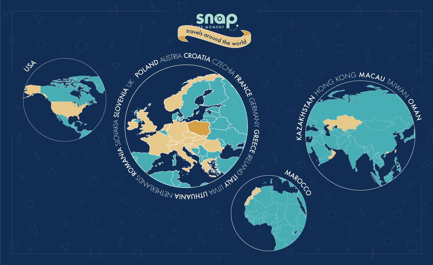 Snap The Moement - Dookoła świata