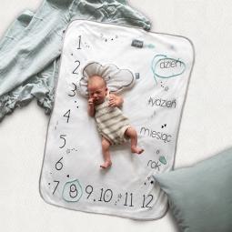 Zestaw foto-kocyk® + foto-karty dla dzieci 0-3 lat zestaw