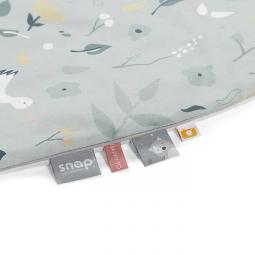 Flower birds junior komplet kołdra i poduszka