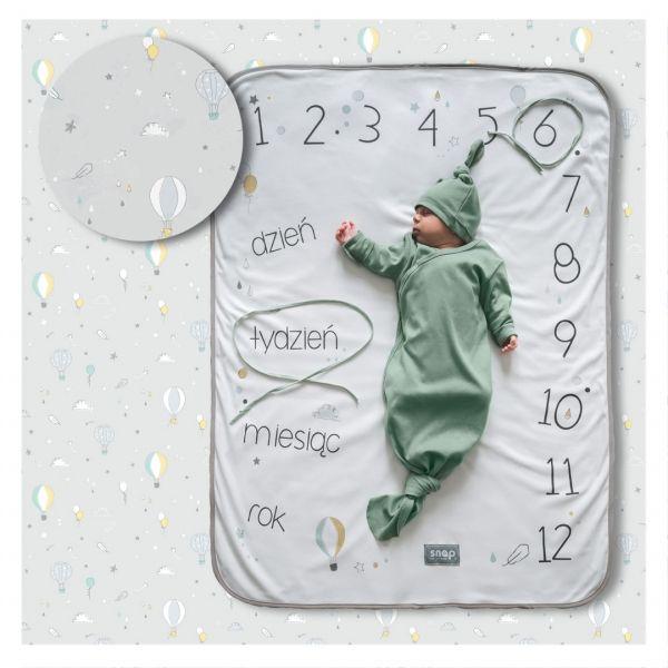 Foto-kocyk® pastel grey